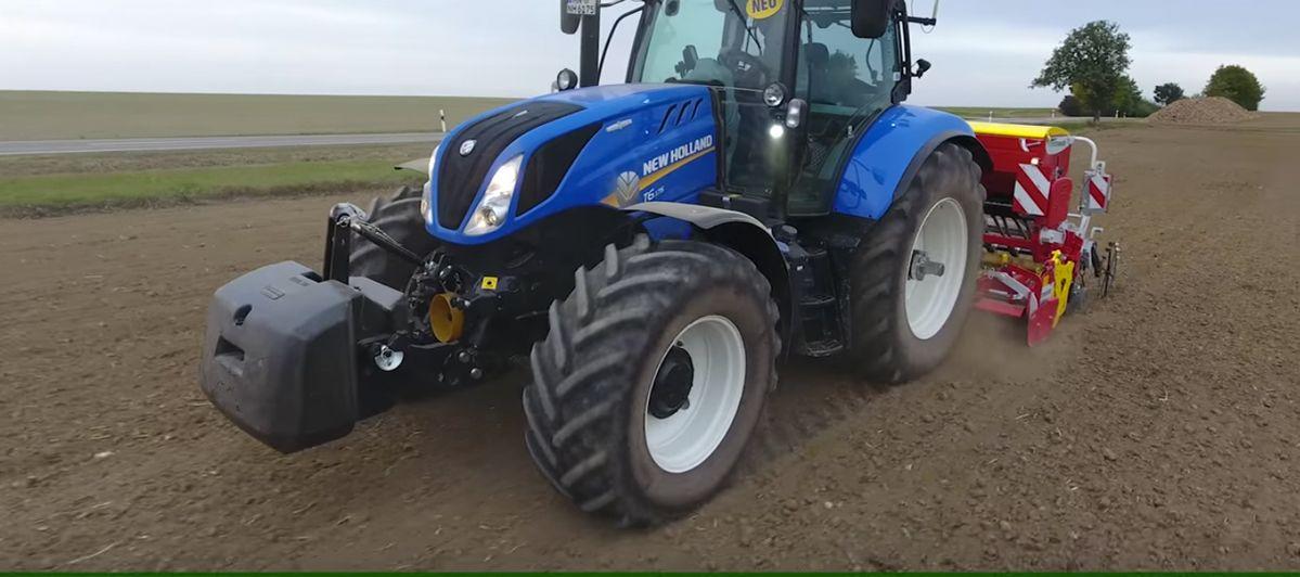 New Holland T6 im AGRARTECHNIK-Maschinentest