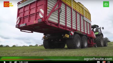 AGRARTECHNIK-Maschinentest: Pöttinger Faro Ladewagen