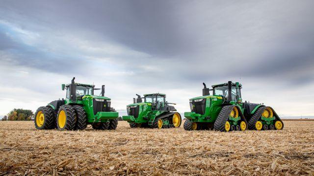 Neue Traktoren der Serie 9 bis 691 PS von John Deere