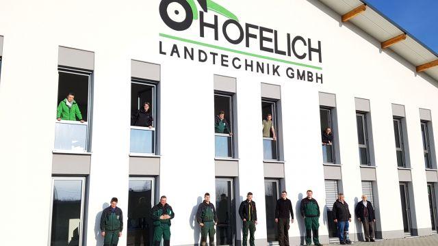 Hofelich eröffnet neues Werkstattgebäude in Gussenstadt