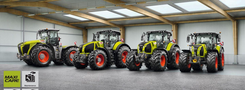 Claas erweitert Garantie- und Servicepakete für Traktoren