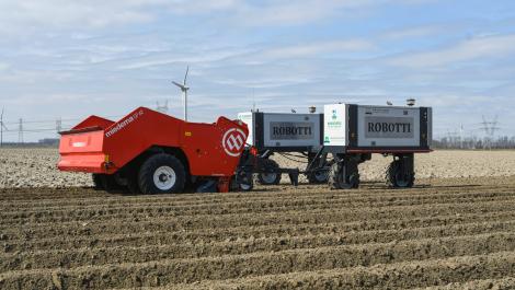 Dewulf und Agrointelli: Projekt zum autonomen Pflanzen von Kartoffeln