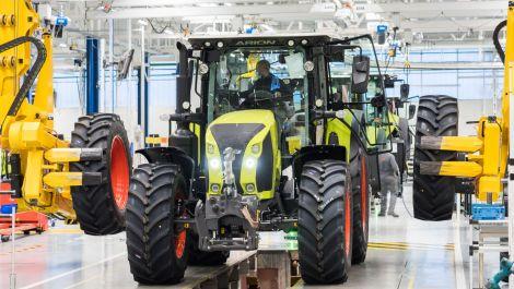 "Claas startet in Le Mans die ""Zukunftsfabrik"""