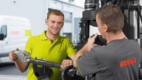 Claas Service Techniker IHK mit neuer Ausrichtung
