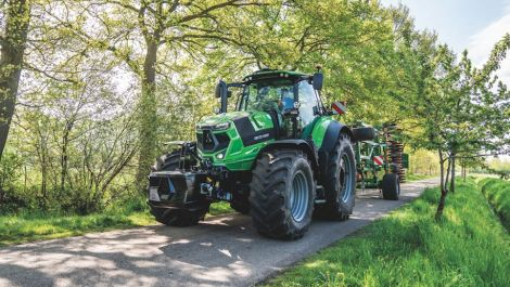 Deutz-Fahr präsentiert neue Serie 7 TTV