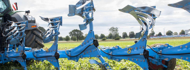 Neue Überlastsicherung für Lemken Pflüge