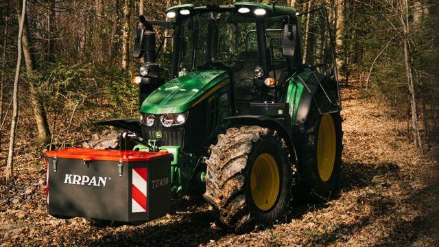 Traktorkiste von Krpan: Stauraum für Forstzubehör