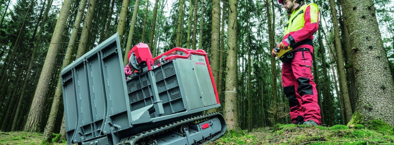 Suffel SmartSkidder – Forstmaschine für kleine Flächen