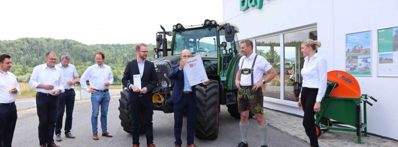 AGRARTECHNIK Service Award an BayWa Traunstein verliehen