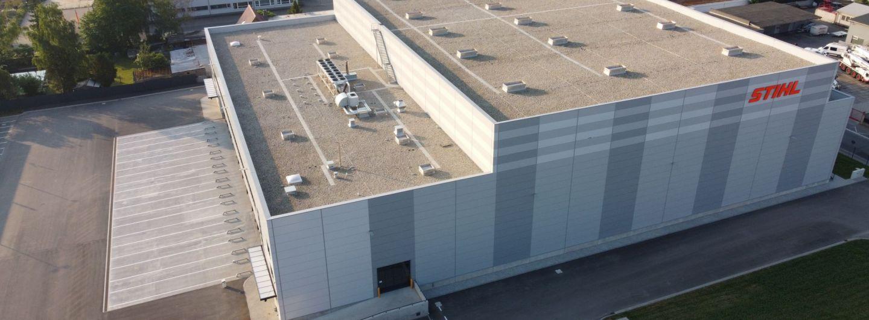 Stihl weiht neues Logistikgebäude ein