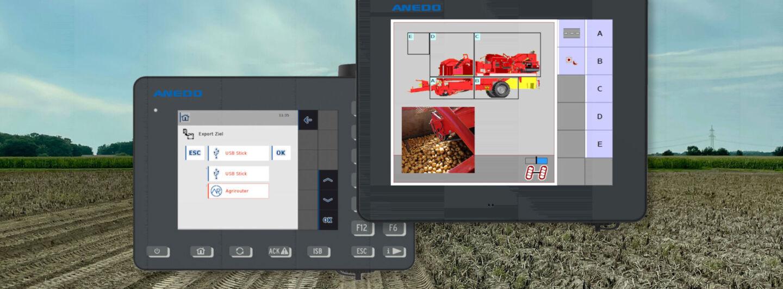 Anedo mit neuer Software für Isobus-Terminals