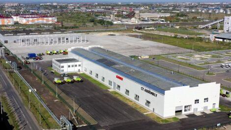 Claas weiht neues Montagewerk in Kasachstan ein