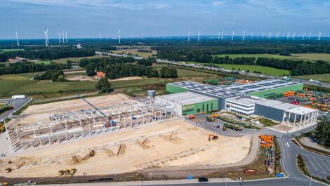 Amazone erweitert Produktionskapazitäten in Bramsche