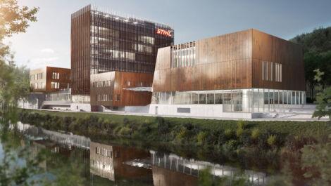"""Unternehmensmuseum """"Stihl Markenwelt"""" öffnet 2023"""