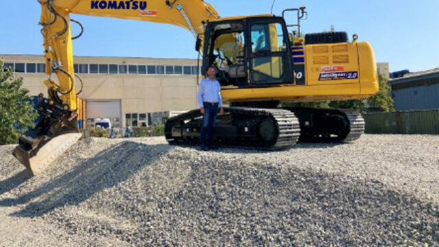 Kuhn Baumaschinen: Neues Testgelände in Himberg