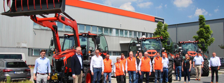 Neuer Kubota Vertriebspartner – C. Sterner setzt auf neuen Standort