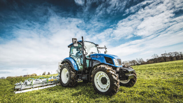 New Holland führt T5 Utility Stufe V und T5 Electro Command Stufe Traktorreihe ein