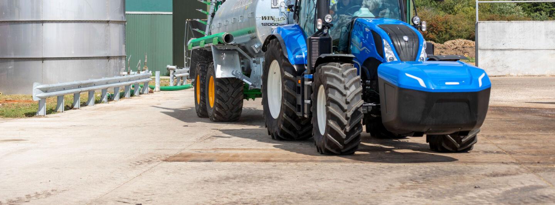 Der T6.180 Methane erweitert das New Holland Produktportfolio